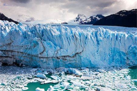 perito moreno glacier - Spectacular Perito Moreno glacier, situated within Los Glaciares National Park, UNESCO World Heritage Site, Patagonia, Argentina, South America Stock Photo - Rights-Managed, Code: 841-05962389