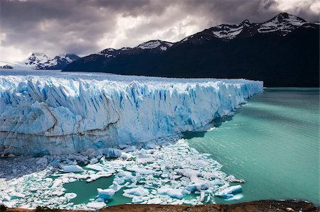 perito moreno glacier - Spectacular Perito Moreno glacier, situated within Los Glaciares National Park, UNESCO World Heritage Site, Patagonia, Argentina. Stock Photo - Rights-Managed, Code: 841-05962390