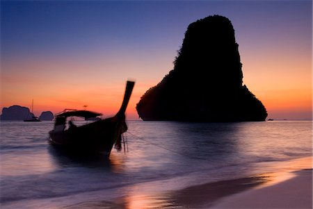 Happy Island, Hat Phra Nang Beach, Railay, Krabi Province, Thailand, Southeast Asia, Asia Stock Photo - Rights-Managed, Code: 841-06034119