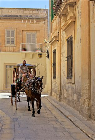 Mdina, the fortress city, Malta, Europe Stock Photo - Rights-Managed, Code: 841-06034505