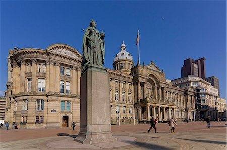 Council House and Victoria Square, Birmingham, Midlands, England, United Kingdom, Europe Stock Photo - Rights-Managed, Code: 841-06030355