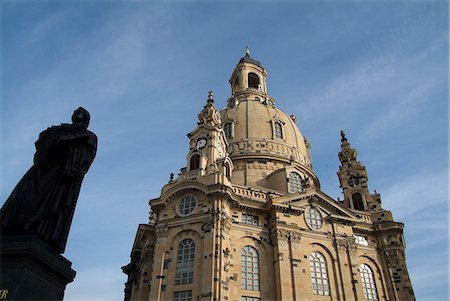 Frauenkirche, Dresden, Saxony, Germany, Europe Stock Photo - Rights-Managed, Code: 841-06030395