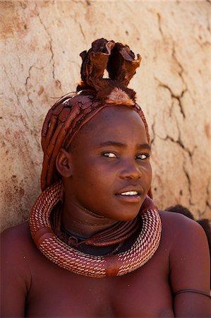 Himba woman, Skeleton Coast National Park, Namibia, Africa Stock Photo - Rights-Managed, Code: 841-06030888