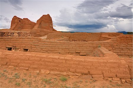 Pecos National Historical Park, Santa Fe, New Mexico, United States of America, North America Stock Photo - Rights-Managed, Code: 841-06031029