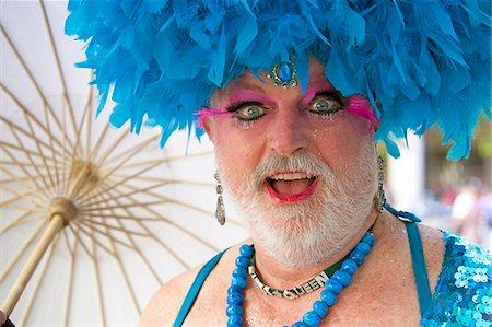 Lesbian Gay Bisexual Transgender Pride Parade, San Francisco, California, United States of America, North America Stock Photo - Rights-Managed, Code: 841-06031346