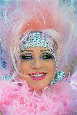 Lesbian Gay Bisexual Transgender Pride Parade, San Francisco, California, United States of America, North America Stock Photo - Rights-Managed, Code: 841-06031348