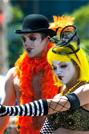 Lesbian Gay Bisexual Transgender Pride Parade, San Francisco, California, United States of America, North America Stock Photo - Rights-Managed, Code: 841-06031350