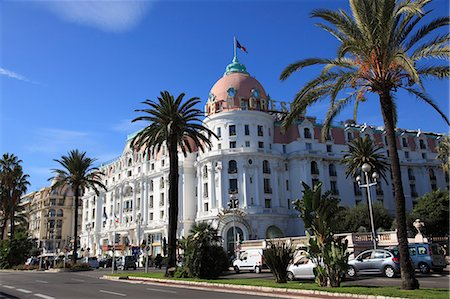 france - Hotel Negresco, Promenade des Anglais, Nice, Alpes Maritimes, Cote d'Azur, French Riviera, Provence, France, Europe Stock Photo - Rights-Managed, Code: 841-06031884