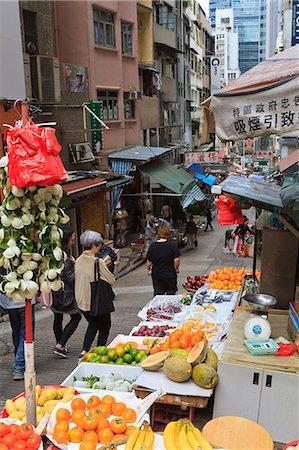 Street in Mid Levels, Hong Kong Island, Hong Kong, China, Asia Stock Photo - Rights-Managed, Code: 841-06031953