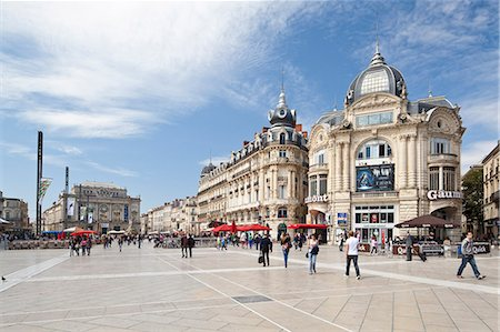 The Place de la Comedie, Montpellier, Languedoc-Roussillon, France, Europe Stock Photo - Rights-Managed, Code: 841-06032808