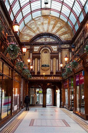 Central Arcade, Newcastle upon Tyne, Tyne and Wear, England, United Kingdom, Europe Stock Photo - Rights-Managed, Code: 841-06033199