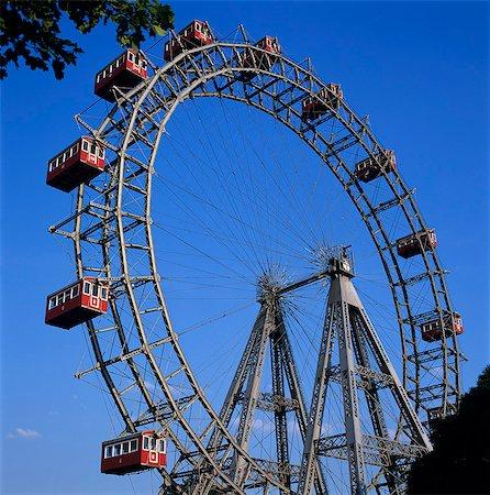 dpruter - Prater Ferris Wheel featured in film The Third Man, Vienna, Austria, Europe Stock Photo - Rights-Managed, Code: 841-06033229