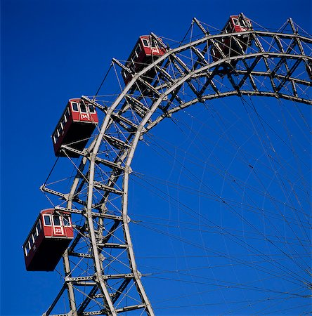 dpruter - Prater Ferris Wheel featured in film The Third Man, Prater, Vienna, Austria, Europe Stock Photo - Rights-Managed, Code: 841-06033230