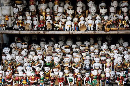 Collection of water puppets, Hanoi, Vietnam, Indochina, Southeast Asia, Asia Stock Photo - Rights-Managed, Code: 841-06033259