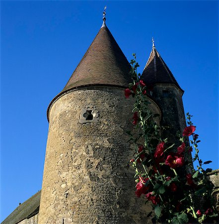 Tower of the Chateau, Chateauneuf, Burgundy, France, Europe Stock Photo - Rights-Managed, Code: 841-06033438