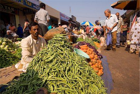 Mapusa Market, Goa, India, Asia Stock Photo - Rights-Managed, Code: 841-06033990