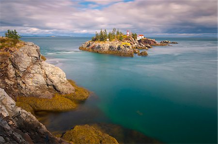 East Quoddy (Head Harbour) Lighthouse, Campobello Island, New Brunswick, Canada, North America Stock Photo - Rights-Managed, Code: 841-06344232
