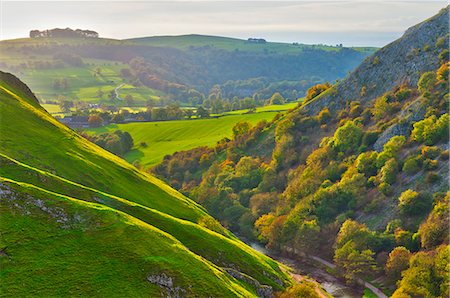 Dovedale, Peak District National Park, Derbyshire, England Stock Photo - Rights-Managed, Code: 841-06344287