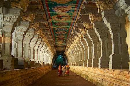 places - Ramanatha Swami, Rameswaram, Tamil Nadu, India, Asia Stock Photo - Rights-Managed, Code: 841-06344643