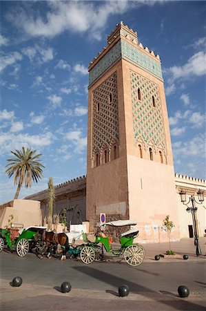 D'El Mansour Mosque, Marrakesh, Morocco, North Africa, Africa Stock Photo - Rights-Managed, Code: 841-06344777