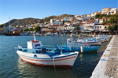 Harbour view, Pythagorion, Samos, Aegean Islands, Greece Stock Photo - Rights-Managed, Code: 841-06345197