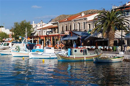 Harbour view, Pythagorion, Samos, Aegean Islands, Greece Stock Photo - Rights-Managed, Code: 841-06345199