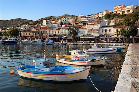 Harbour view, Pythagorion, Samos, Aegean Islands, Greece Stock Photo - Rights-Managed, Code: 841-06345200