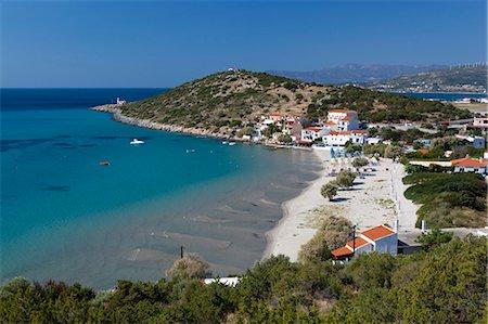 Psili Ammos, Samos, Aegean Islands, Greece Stock Photo - Rights-Managed, Code: 841-06345218