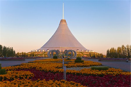 futuristic - Khan Shatyr shopping and entertainment center, Astana, Kazakhstan, Central Asia, Asia Stock Photo - Rights-Managed, Code: 841-06341009