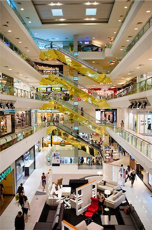 Shopping centre, Orchard Road, Singapore, Southeast Asia, Asia Stock Photo - Rights-Managed, Code: 841-06341172
