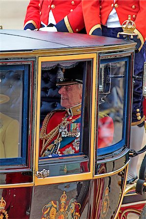 HRH Prince Philip, Trooping the Colour 2012, The Queen's Birthday Parade, Whitehall, Horse Guards, London, England, United Kingdom, Europe Stock Photo - Rights-Managed, Code: 841-06341548
