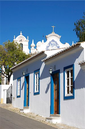 portugal - San Lourenco Church, Almancil, Algarve, Portugal, Europe Stock Photo - Rights-Managed, Code: 841-06341606