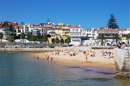 portugal - Fishermans Beach, Cascais, Portugal, Europe Stock Photo - Rights-Managed, Code: 841-06341633
