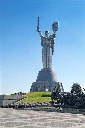 Motherland Statue (Rodina Mat), Kiev, Ukraine, Europe Stock Photo - Rights-Managed, Code: 841-06341909