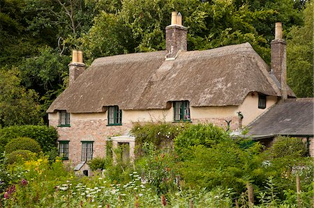 quaint house - Thomas Hardy's cottage, Higher Bockhampton, near Dorchester, Dorset, England, United Kingdom, Europe Stock Photo - Rights-Managed, Code: 841-06342060