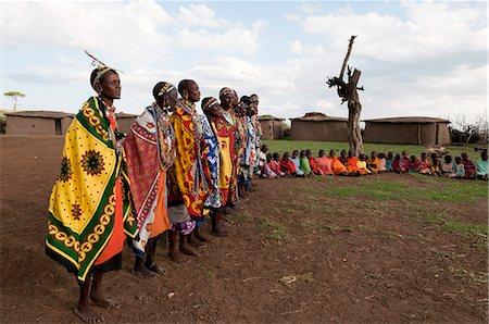 Masai, Masai Mara, Kenya, East Africa, Africa Stock Photo - Rights-Managed, Code: 841-06342308