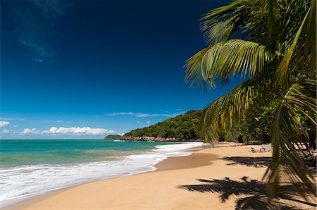 La Perle Beach, Deshaies, Basse-Terre, Guadeloupe, French Caribbean, France, West Indies, Central America Stock Photo - Rights-Managed, Code: 841-06342347