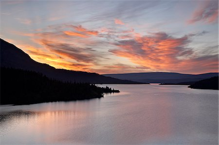 Sunrise over St. Mary Lake, Glacier National Park, Montana, United States of America, North America Stock Photo - Rights-Managed, Code: 841-06342502