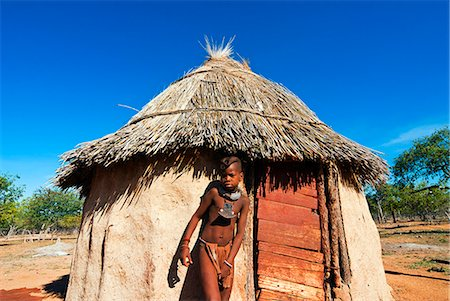 Himba boy, Kaokoveld, Namibia, Africa Stock Photo - Rights-Managed, Code: 841-06342685