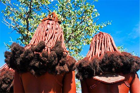 Hairstyle of Himba women, Kaokoveld, Namibia, Africa Stock Photo - Rights-Managed, Code: 841-06342688