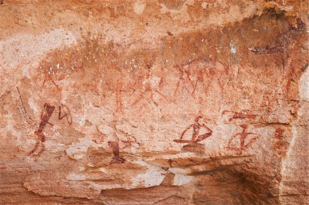 prehistoric - Rock paintings, Twyfelfontein, UNESCO World Heritage Site, Damaraland, Kunene Region, Namibia, Africa Stock Photo - Rights-Managed, Code: 841-06342723
