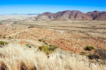 View of the area close to road C 26, Khomas Region, Namibia, Africa Stock Photo - Rights-Managed, Code: 841-06342759