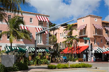 placing - Spanish Village, Miami Beach, Florida, United States of America, North America Stock Photo - Rights-Managed, Code: 841-06342995
