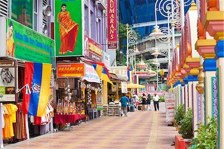 Jalan Tun Sambantham, Little India, Kuala Lumpur, Malaysia, Southeast Asia, Asia Stock Photo - Rights-Managed, Code: 841-06343278