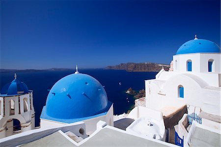 Oia, Santorini, Cyclades, Greek Islands, Greece, Europe Stock Photo - Rights-Managed, Code: 841-06343304