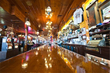 saloon - Delta Saloon, Virginia City, Nevada, United States of America, North America Stock Photo - Rights-Managed, Code: 841-06343344