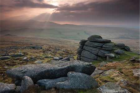 dartmoor national park - Yes Tor from Higher Tor, Belstone, Dartmoor National Park, Devon, England, United Kingdom, Europe Stock Photo - Rights-Managed, Code: 841-06343640