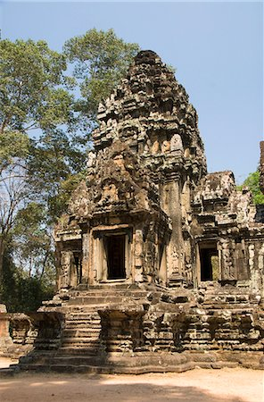 Thommanom, Angkor Archaeological Park, UNESCO World Heritage Site, Siem Reap, Cambodia, Indochina, Southeast Asia, Asia Stock Photo - Rights-Managed, Code: 841-06343859