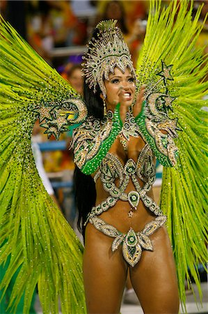 south american woman - Carnival parade at the Sambodrome, Rio de Janeiro, Brazil, South America Stock Photo - Rights-Managed, Code: 841-06446330