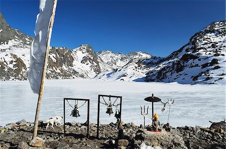 Gosainkund Lakes, Langtang National Park, Bagmati, Central Region (Madhyamanchal), Nepal, Himalayas, Asia Stock Photo - Rights-Managed, Code: 841-06446538